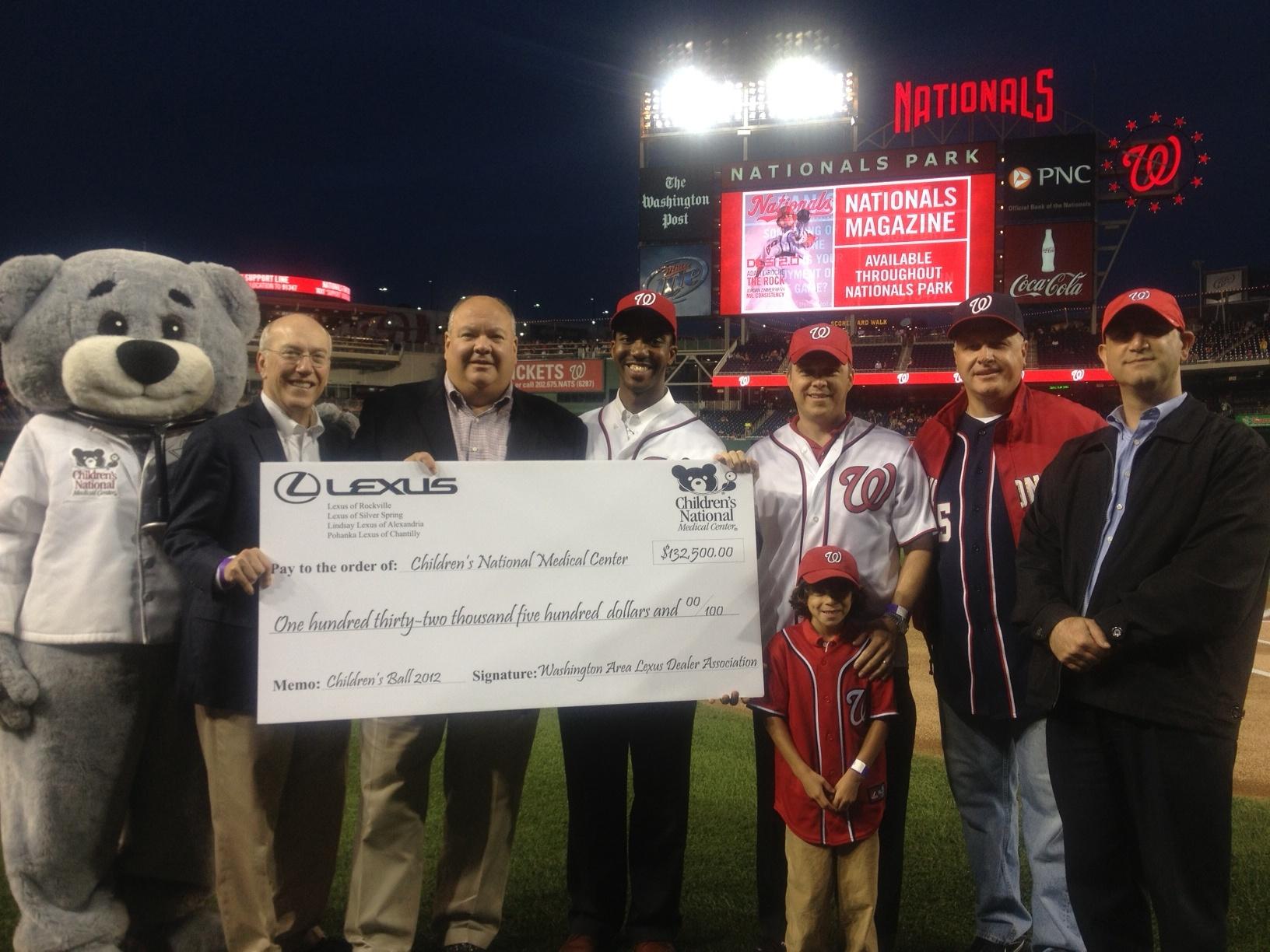 Washington Area Lexus Dealers Support Children s National Medical