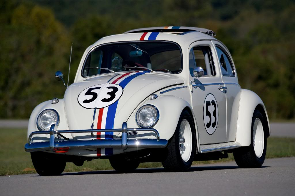 Volkswagen Honors Herbie The Love Bug With Beetle 53