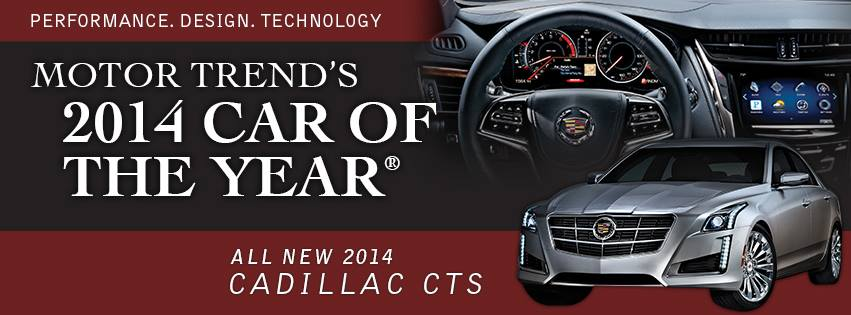 2014 Cadillac CTS was Named Motor Trend Car of the Year  Lindsay